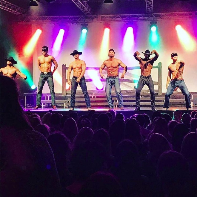 Chippendales strip show